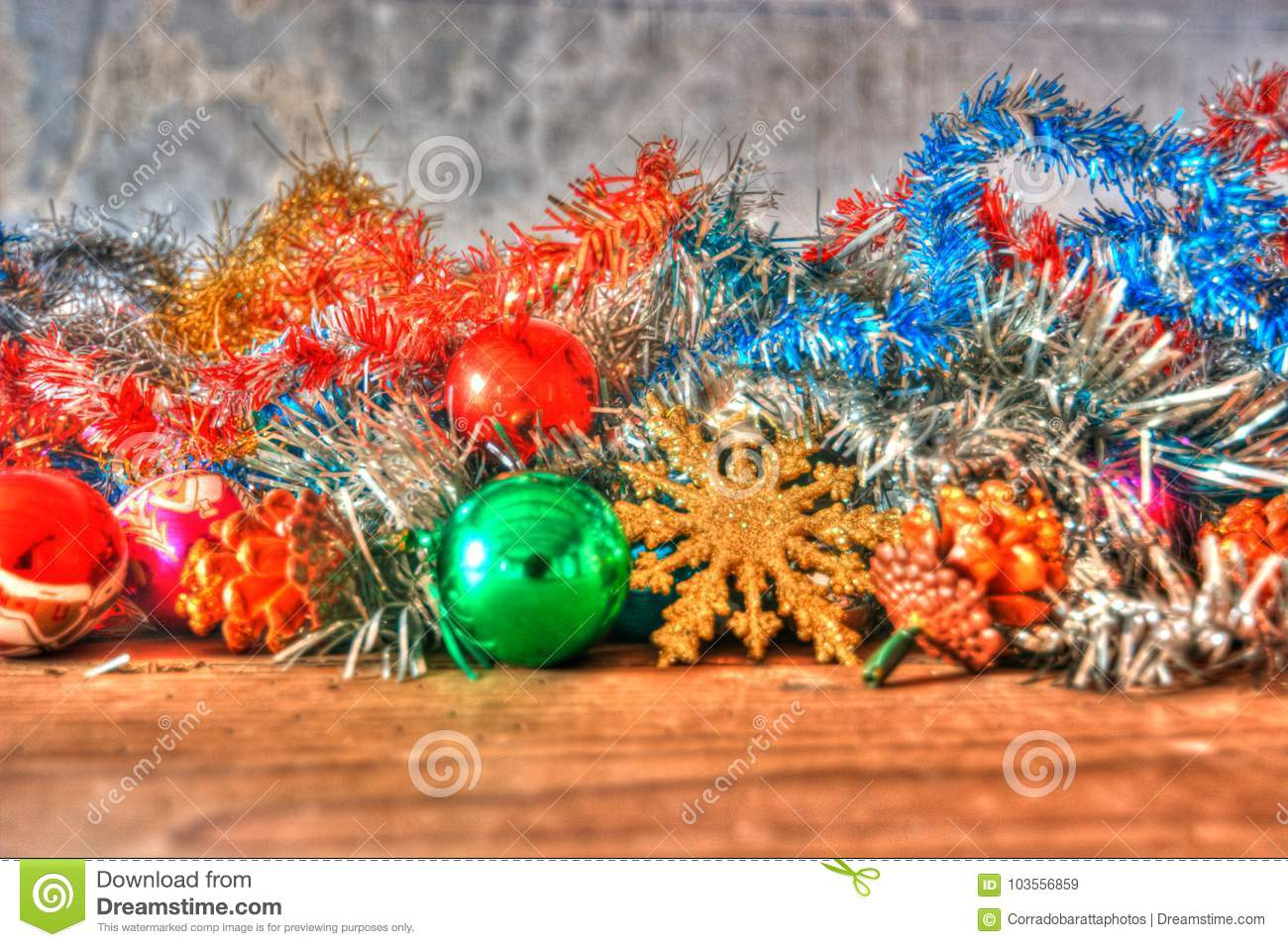 download christmas decorations are waiting to be used stock image image of christmas gifts