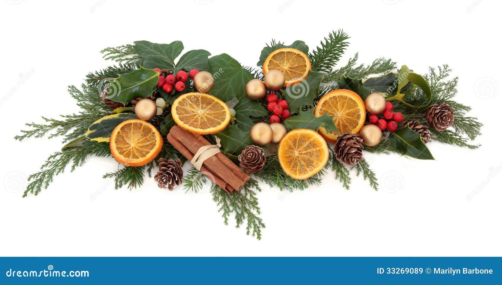 Christmas Decorative Display Stock Image Image 33269089