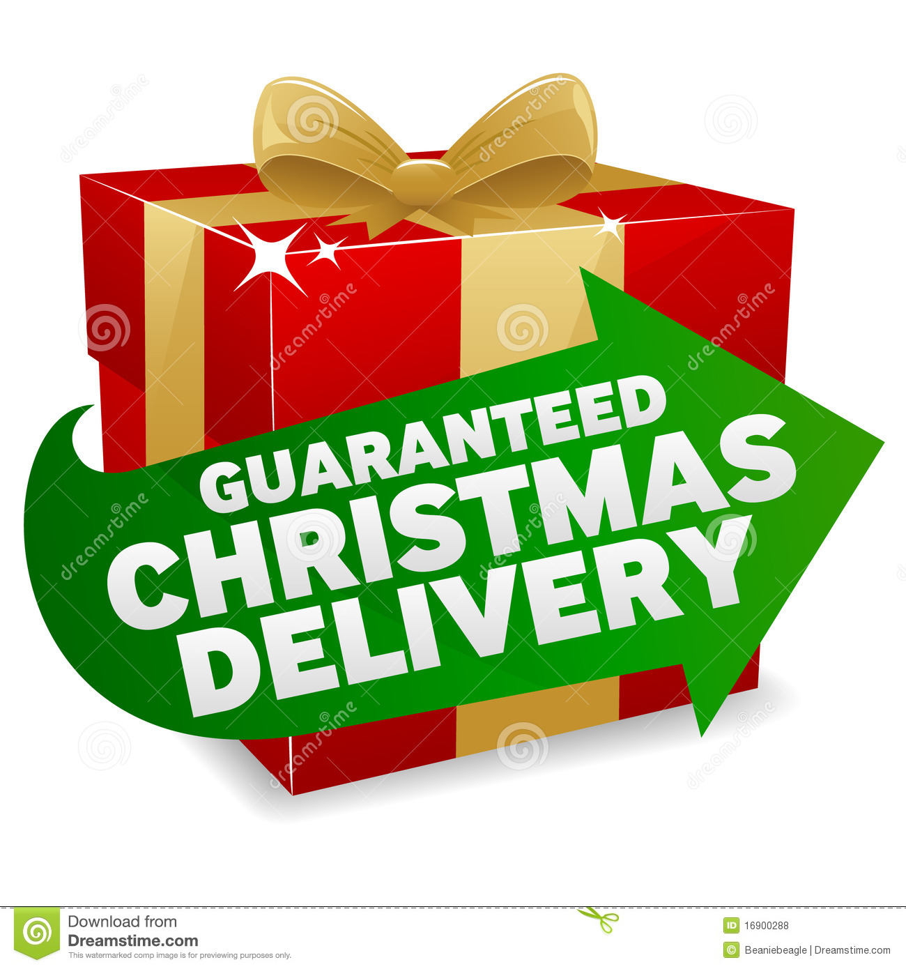 Christmas Delivery Icon Royalty Free Stock Photos Image
