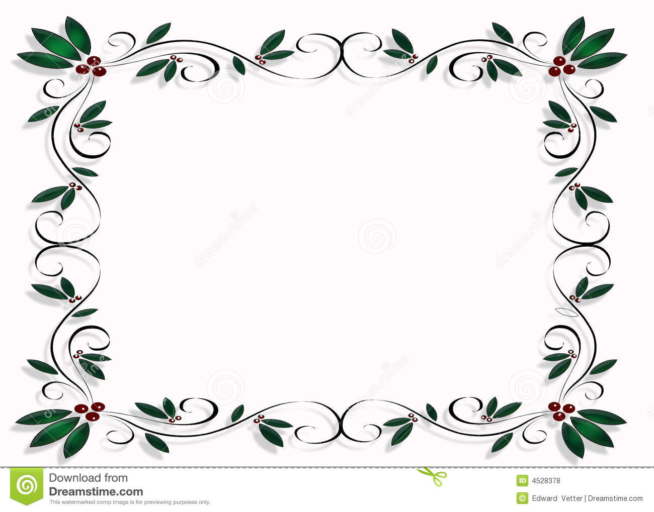 Christmas Design Frame Or Border Royalty Free Stock Photos - Image ...