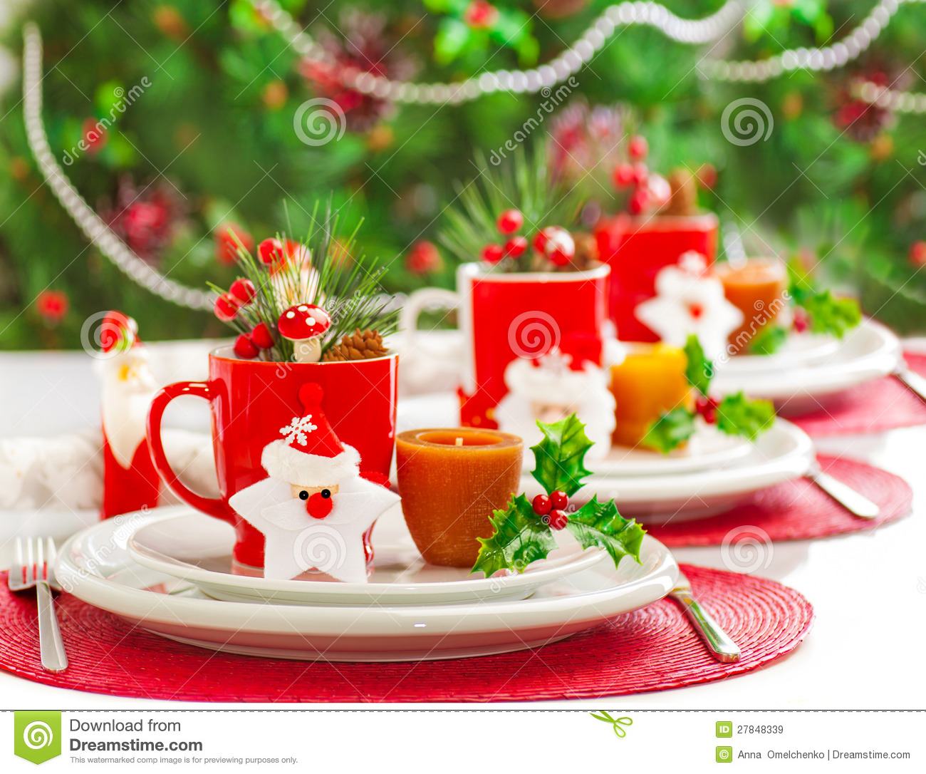 christmas dinner decoration - Christmas Dinner Decorations