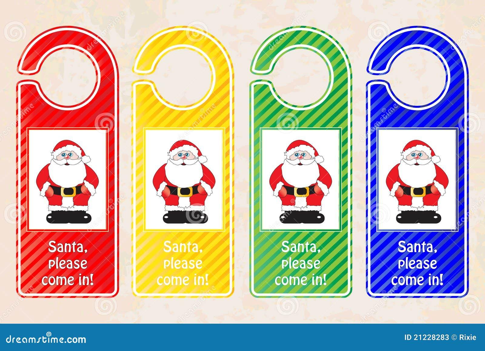 Christmas Door Hangers Stock Photos - Image: 21228283