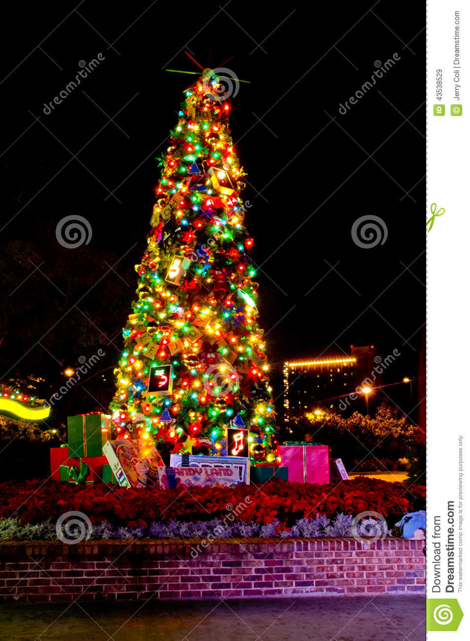 download christmas in downtown disney editorial stock image image of presents lights - Downtown Disney Christmas
