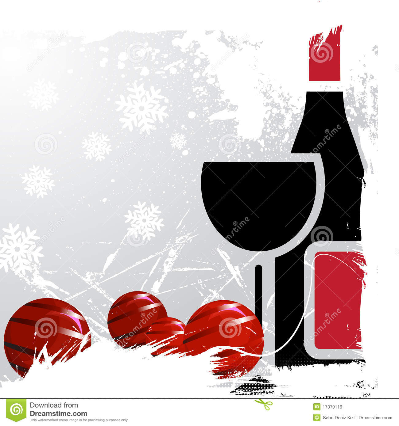 Christmas Drink Vector Royalty Free Stock Image - Image ...