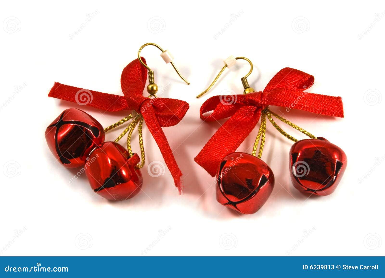 Christmas Earrings Stock Photos Image 6239813