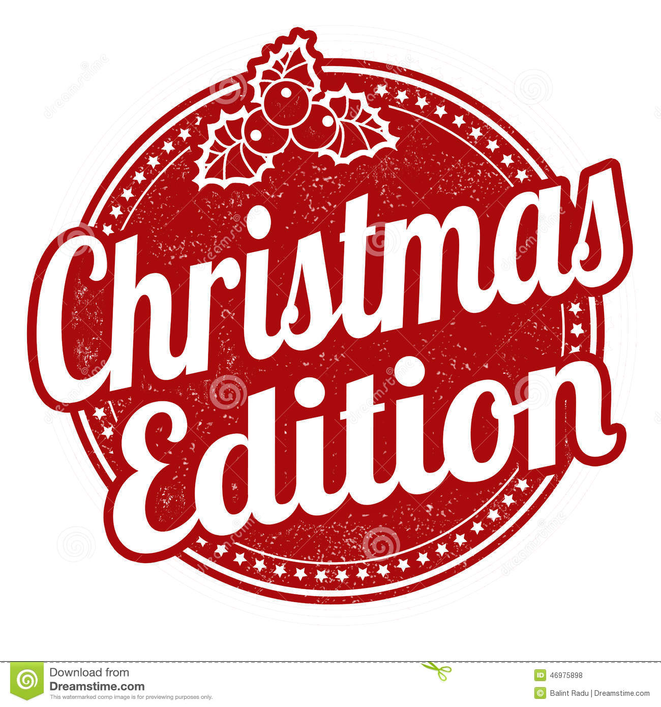 Exceptional Royalty Free Vintage Christmas Images #2: Christmas-edition-stamp-grunge-rubber-white-background-vector-illustration-46975898.jpg