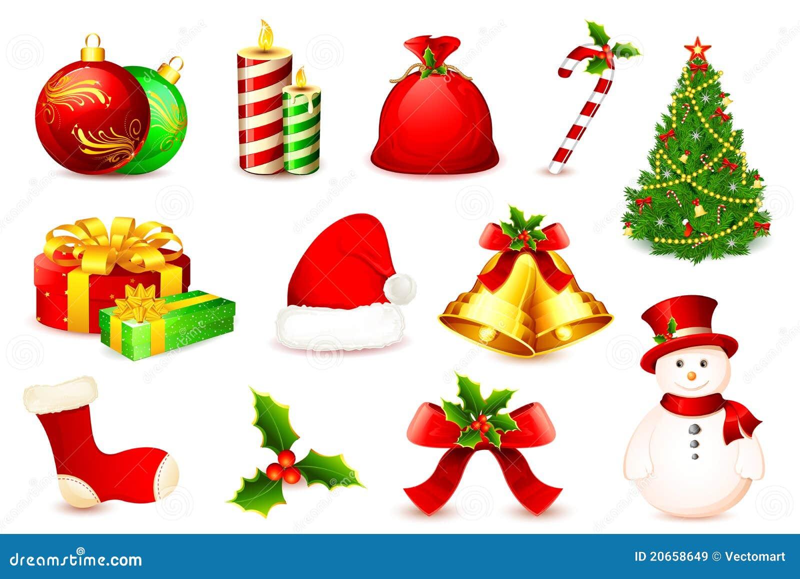 christmas element stock illustration image of decoration 20658649. Black Bedroom Furniture Sets. Home Design Ideas