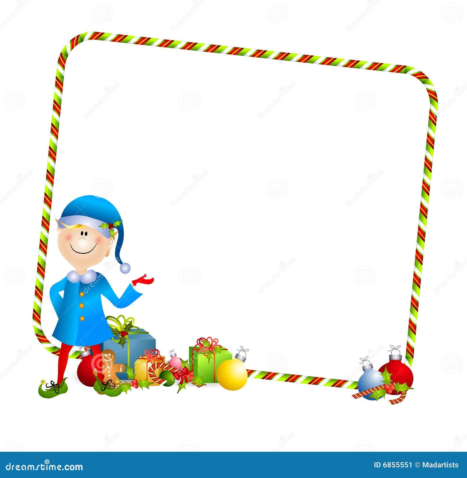 christmas elf background 2 stock image image 6855551