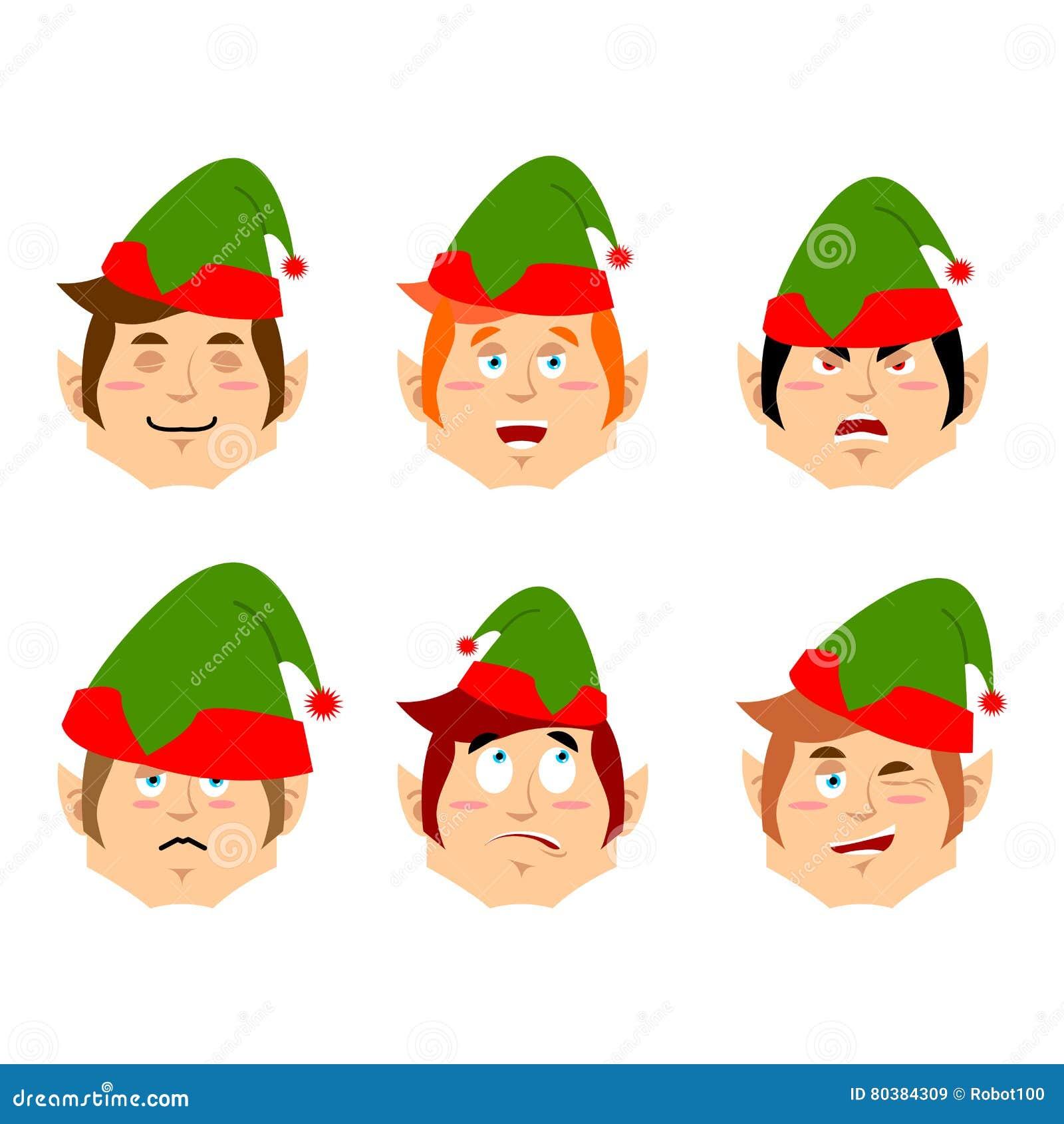 christmas elf emoji