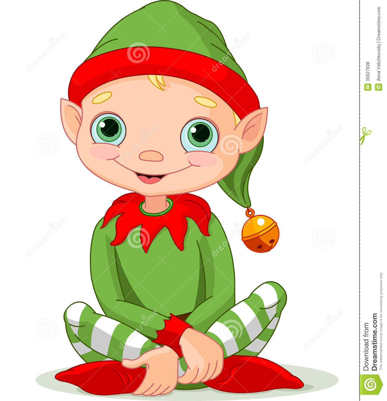 Christmas Elf Royalty Free Stock Photos - Image: 35627838
