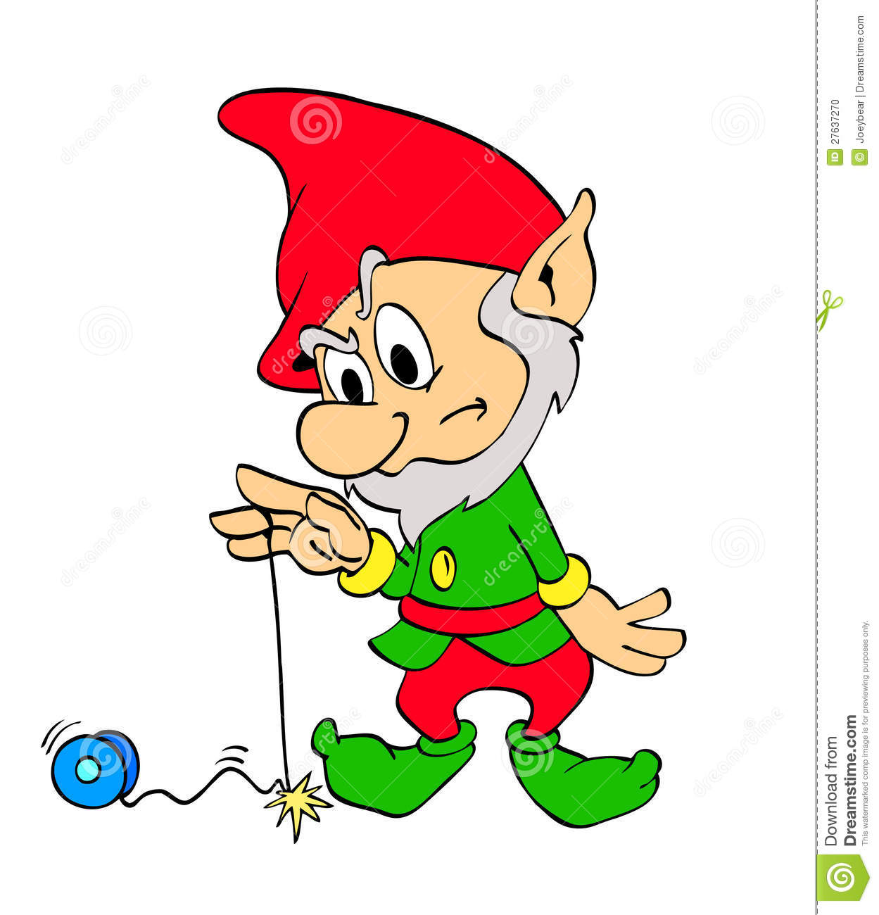 Yoyo Cartoon Christmas elf yo-yo