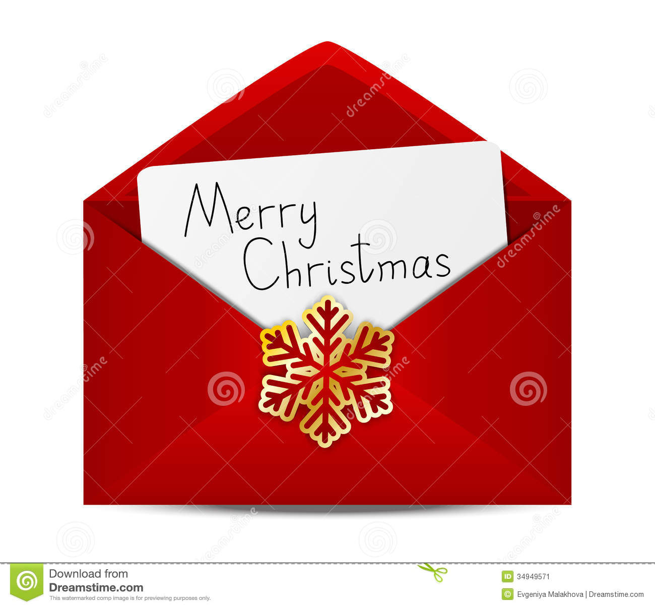 Christmas Card Envelopes | Holliday Decorations