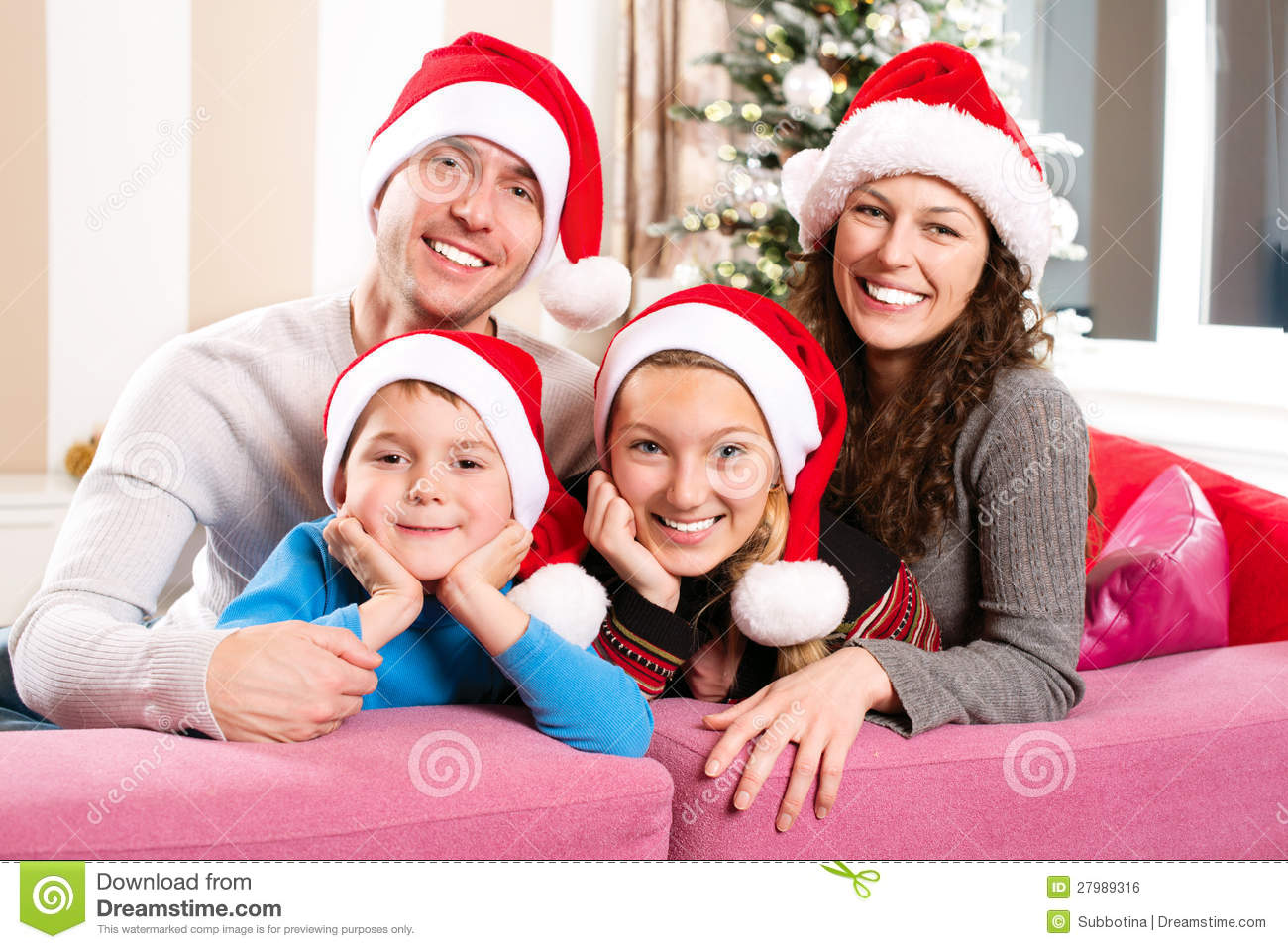 Christmas Family with Kids