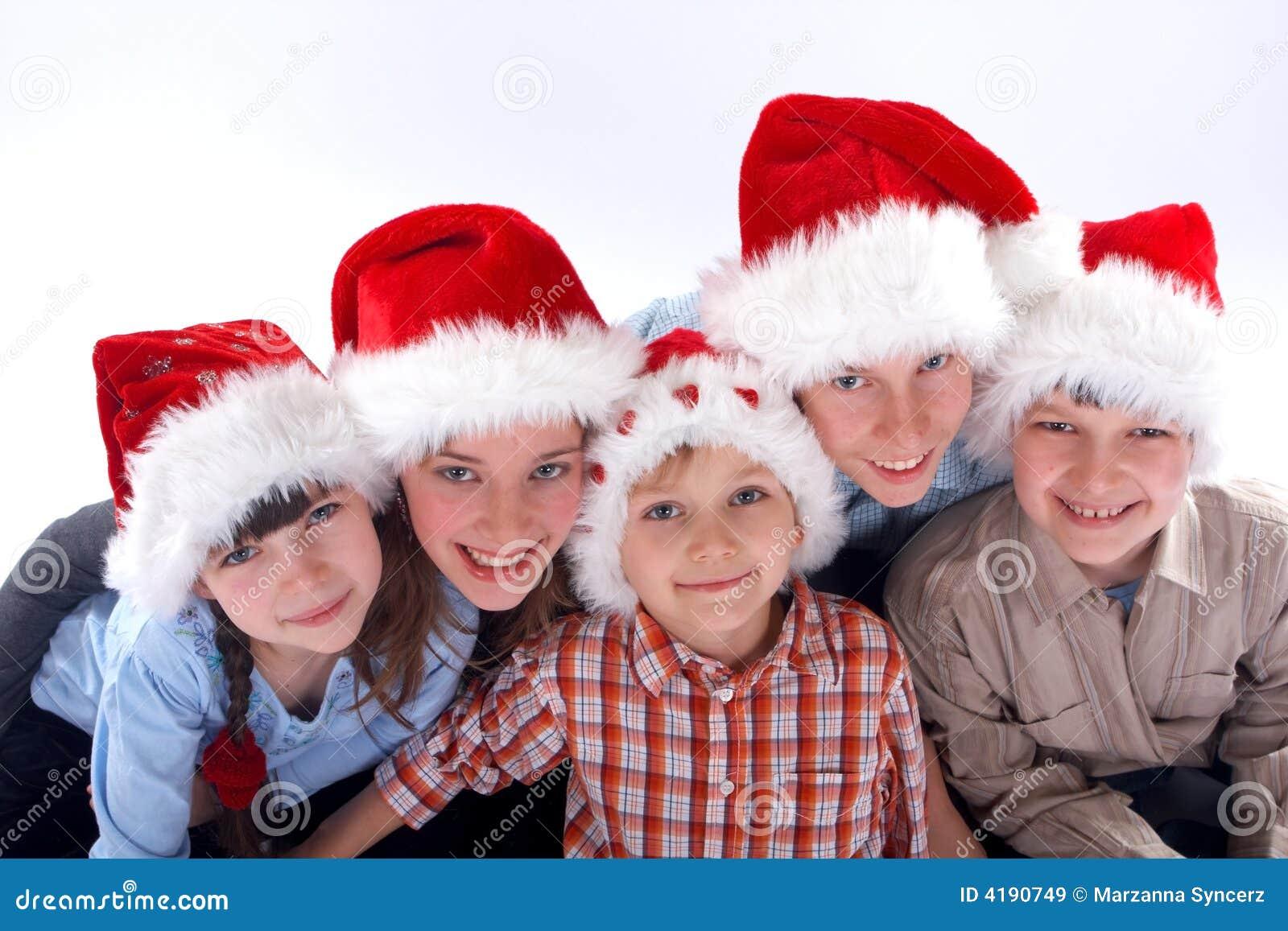 Christmas Family Photo Christmas Family Portrait Royalty Free Stock Images Image 4190749
