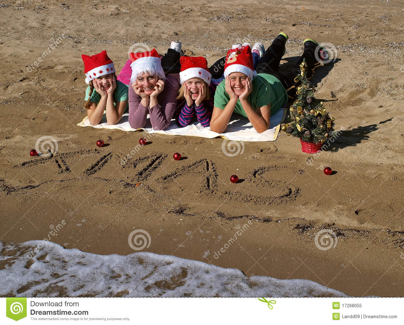 Beautiful Outside Family Christmas Picture Ideas Collections