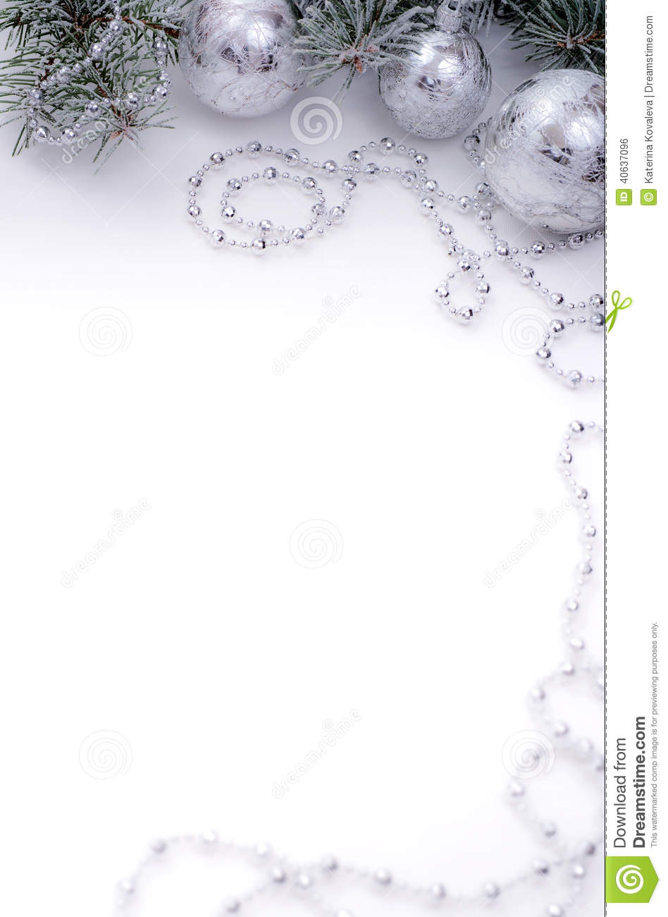 Christmas festive background for menu and invitation stock for Decoration table pour invites