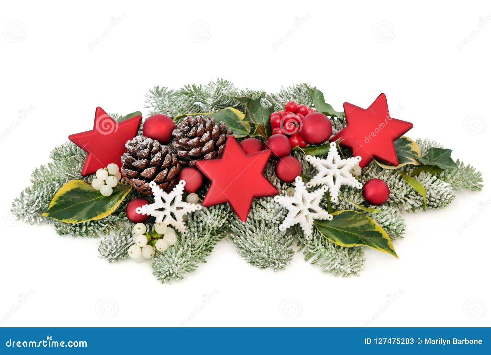 Christmas Festive Table Decoration Stock Image Image Of Christmas