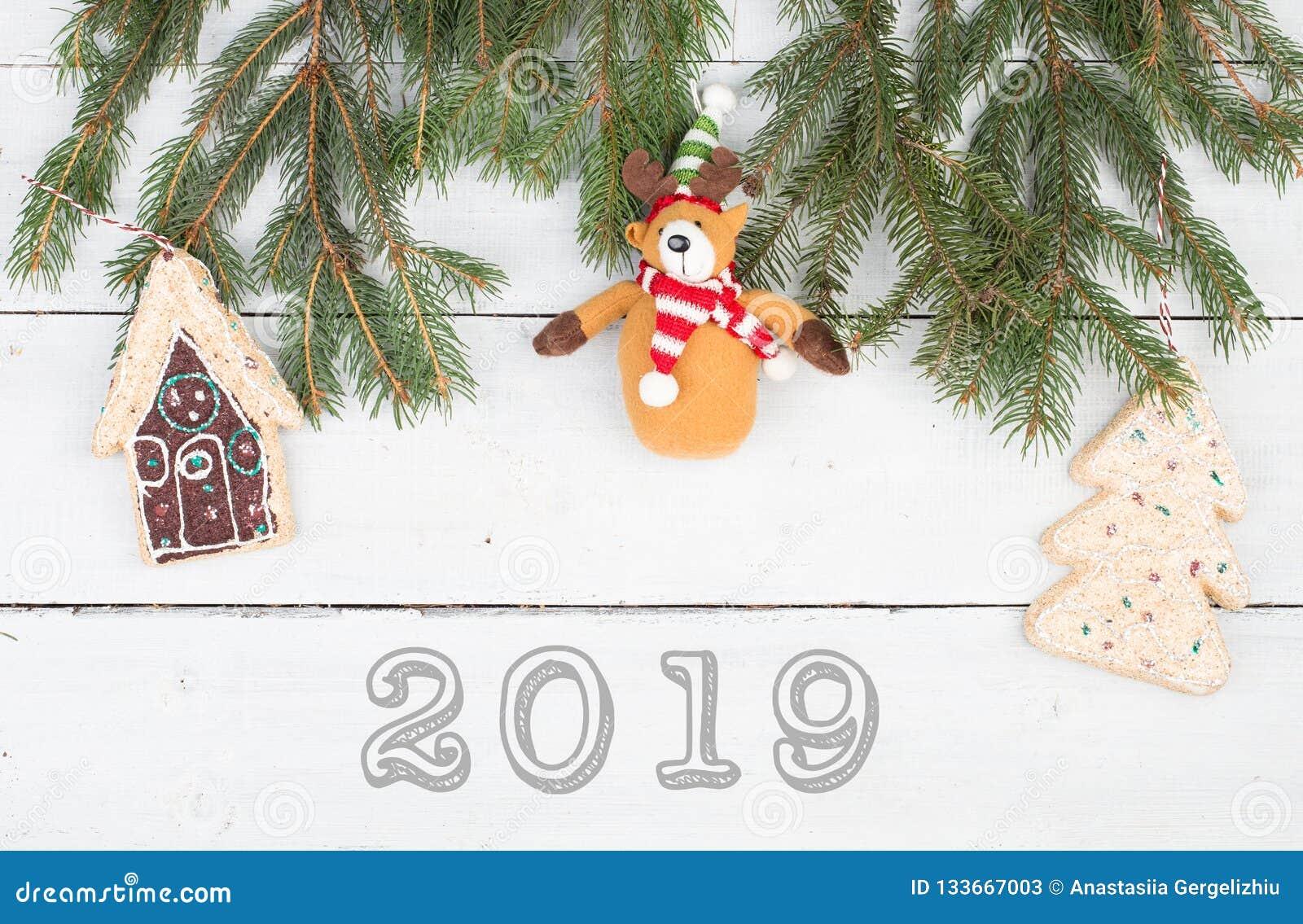 Christmas Tree White House 2019 Christmas Fir Branches, Gingerbread House, Christmas Tree, Teddy