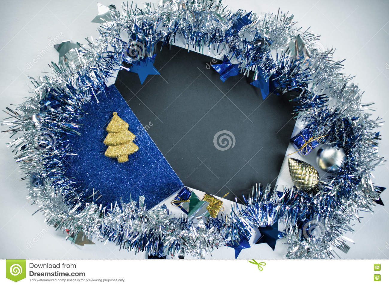 Christmas Flat Lay Backdrop Photo For Advertisement Or Greeting