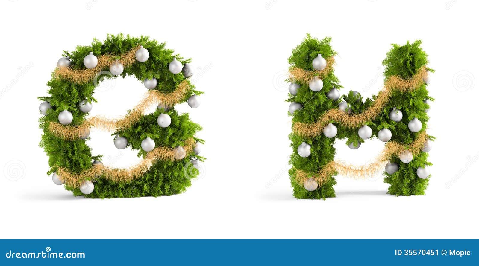 Christmas Font Set Stock Image - Image: 35570451