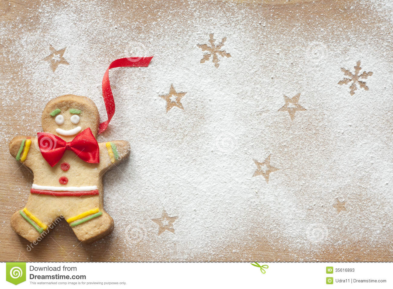 christmas food background with gingerbread man stock image image