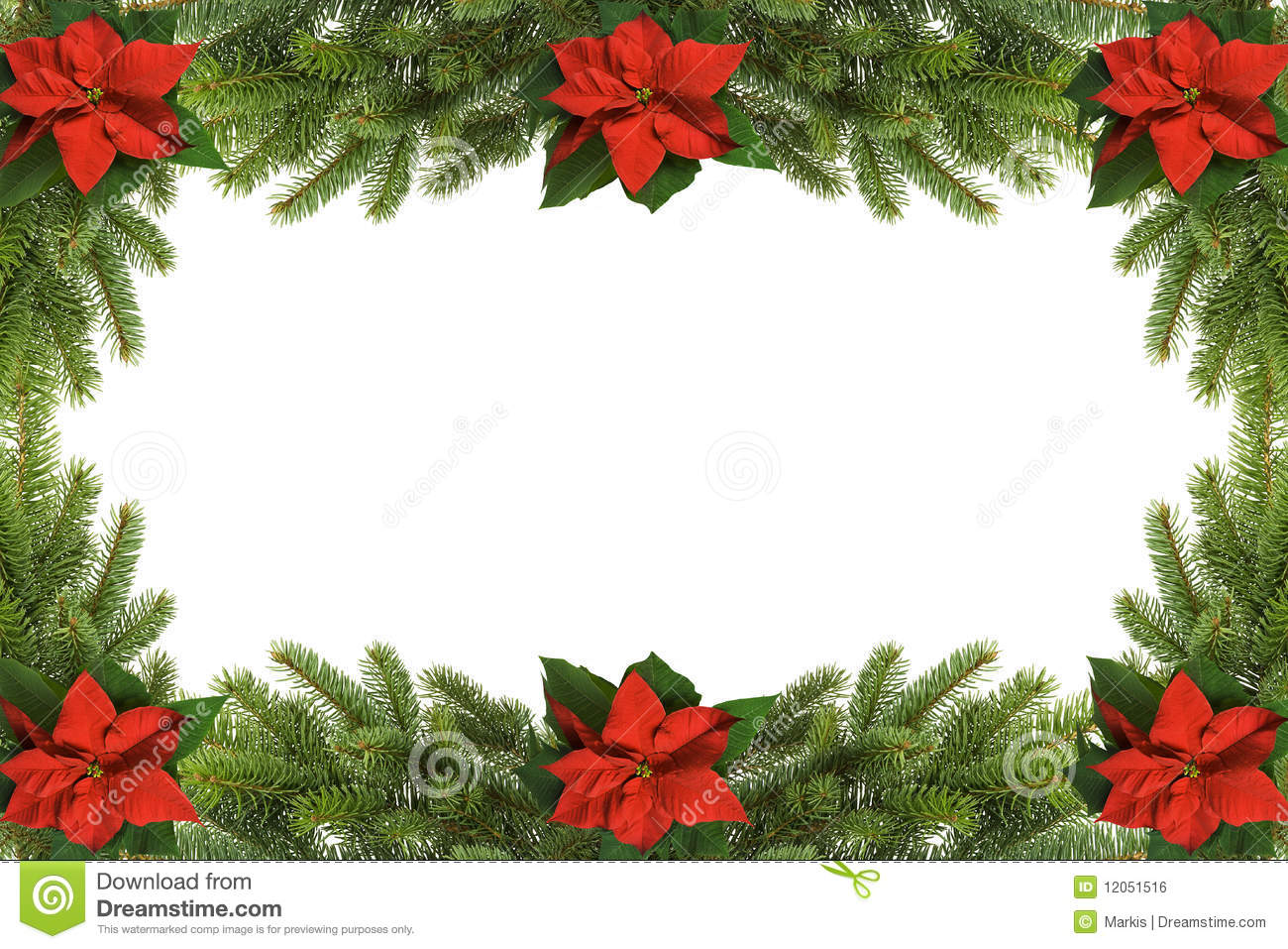 Christmas Frame Royalty Free Stock Image - Image: 12051516
