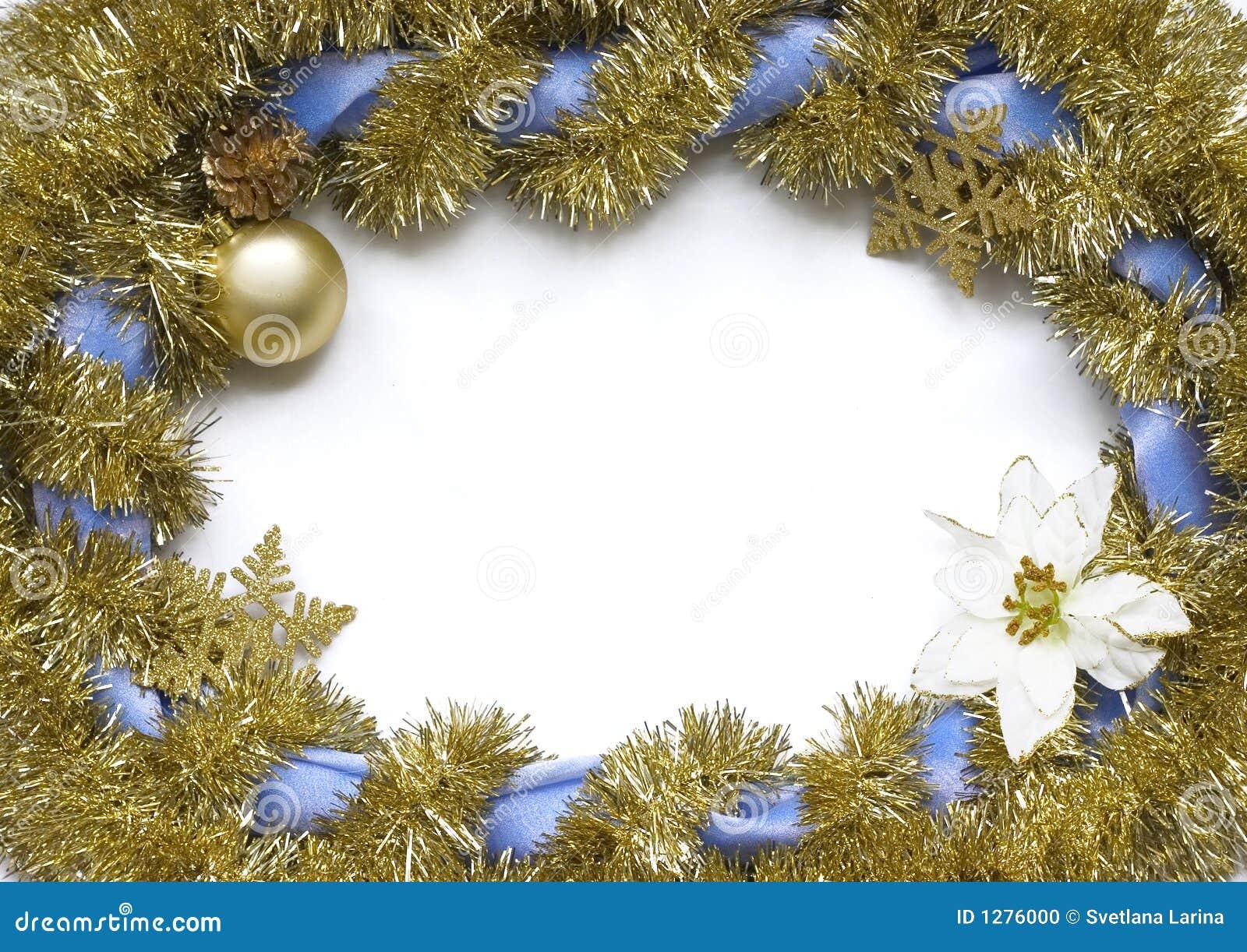 Christmas frame stock photo image 1276000 for Poinsettia christmas tree frame