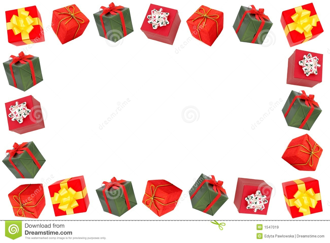 Christmas Frame Royalty Free Stock Images - Image: 1547019