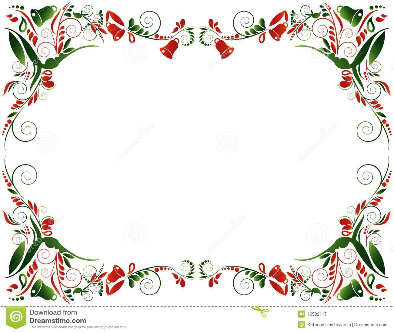 Christmas Frame Royalty Free Stock Photography - Image: 16582117