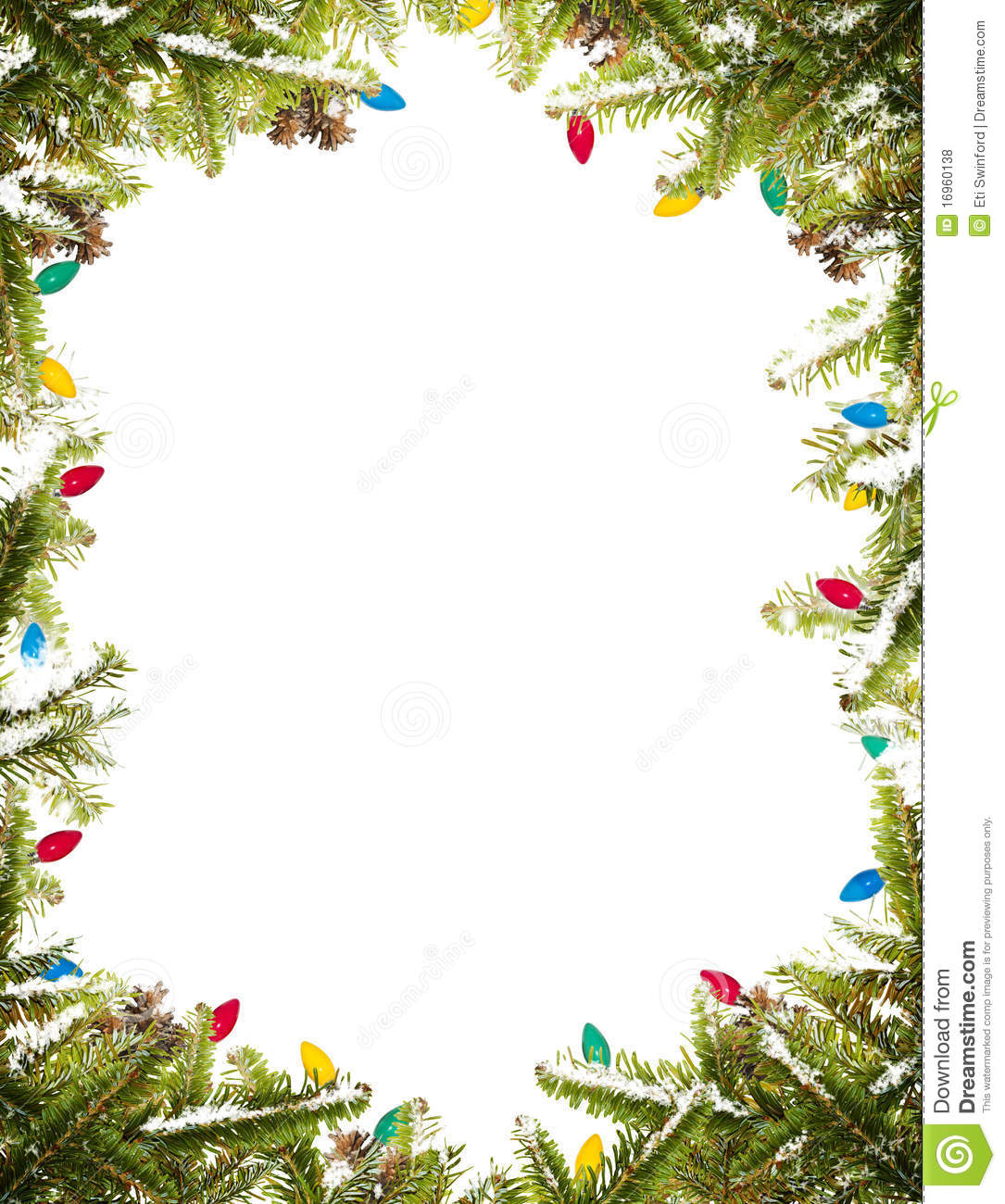 Christmas Frame Royalty Free Stock Photos - Image: 16960138