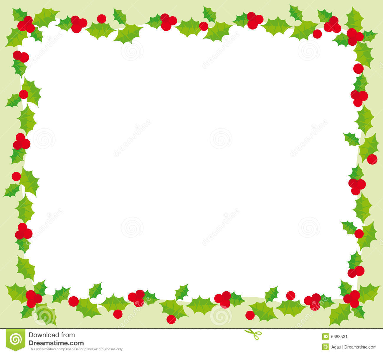 Download Christmas Frame Stock Vector Illustration Of Background