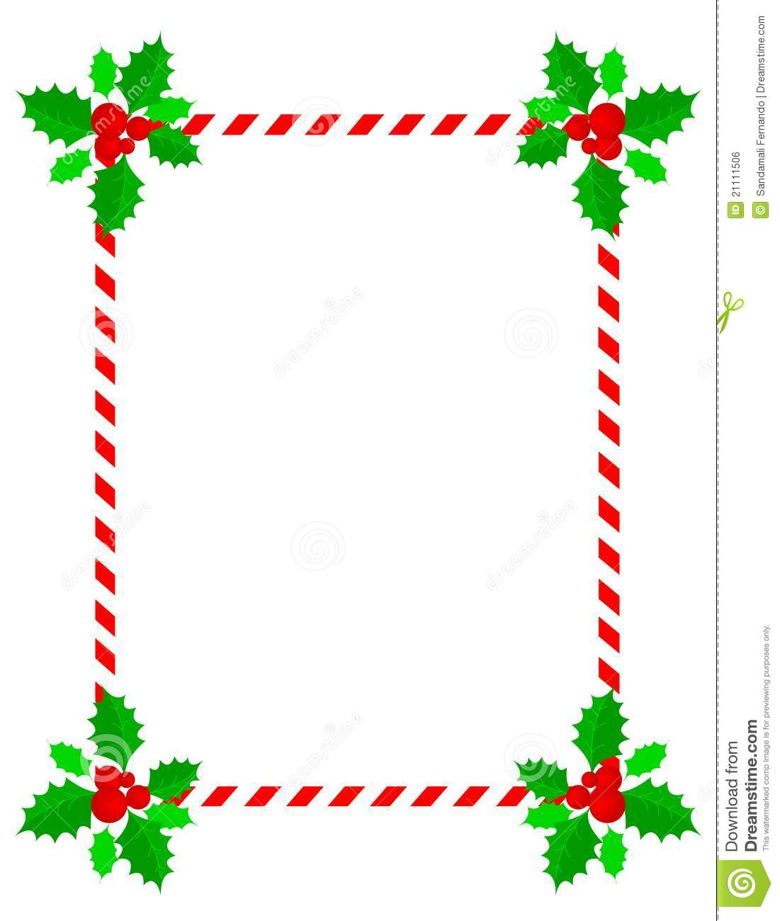 Christmas Frame / Border Royalty Free Stock Image - Image: 21111506