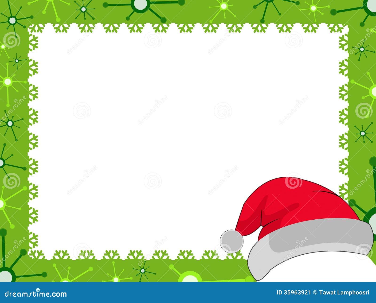 Christmas frame stock illustration illustration of greeting christmas frame jeuxipadfo Images