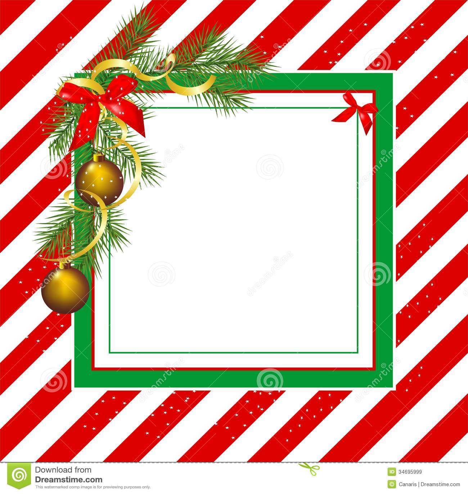 Christmas frame stock illustration. Illustration of seasonal - 34695999