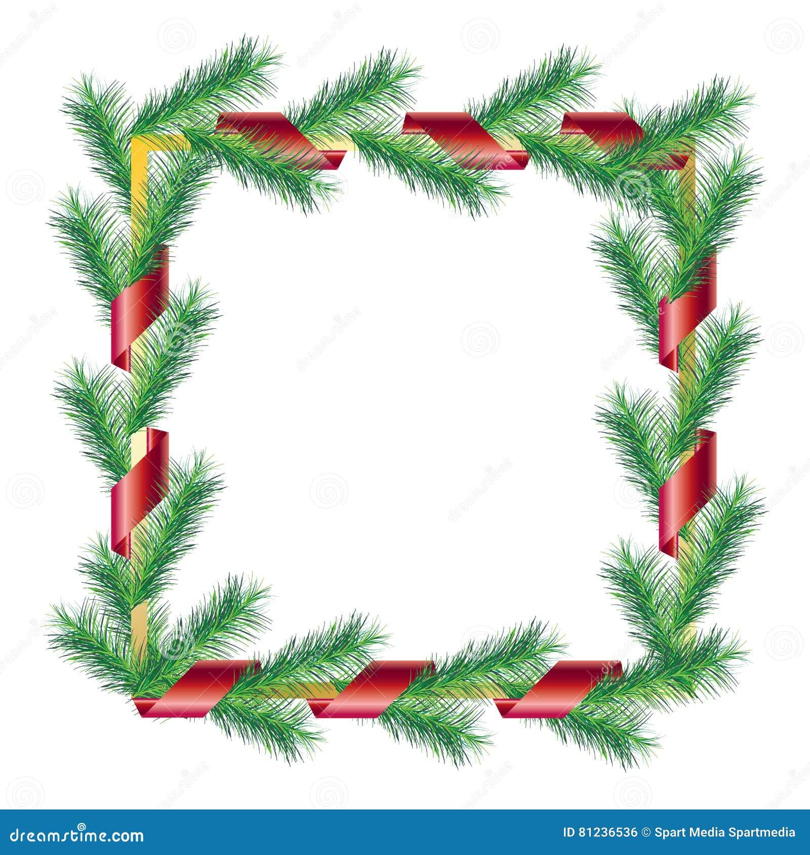 Download Christmas frame stock vector. Illustration of decoration - 81236536