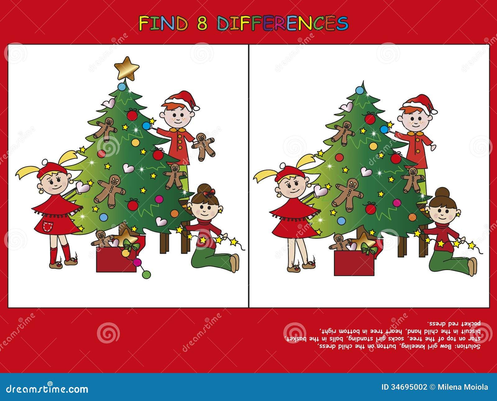 Christmas Game Stock Photography