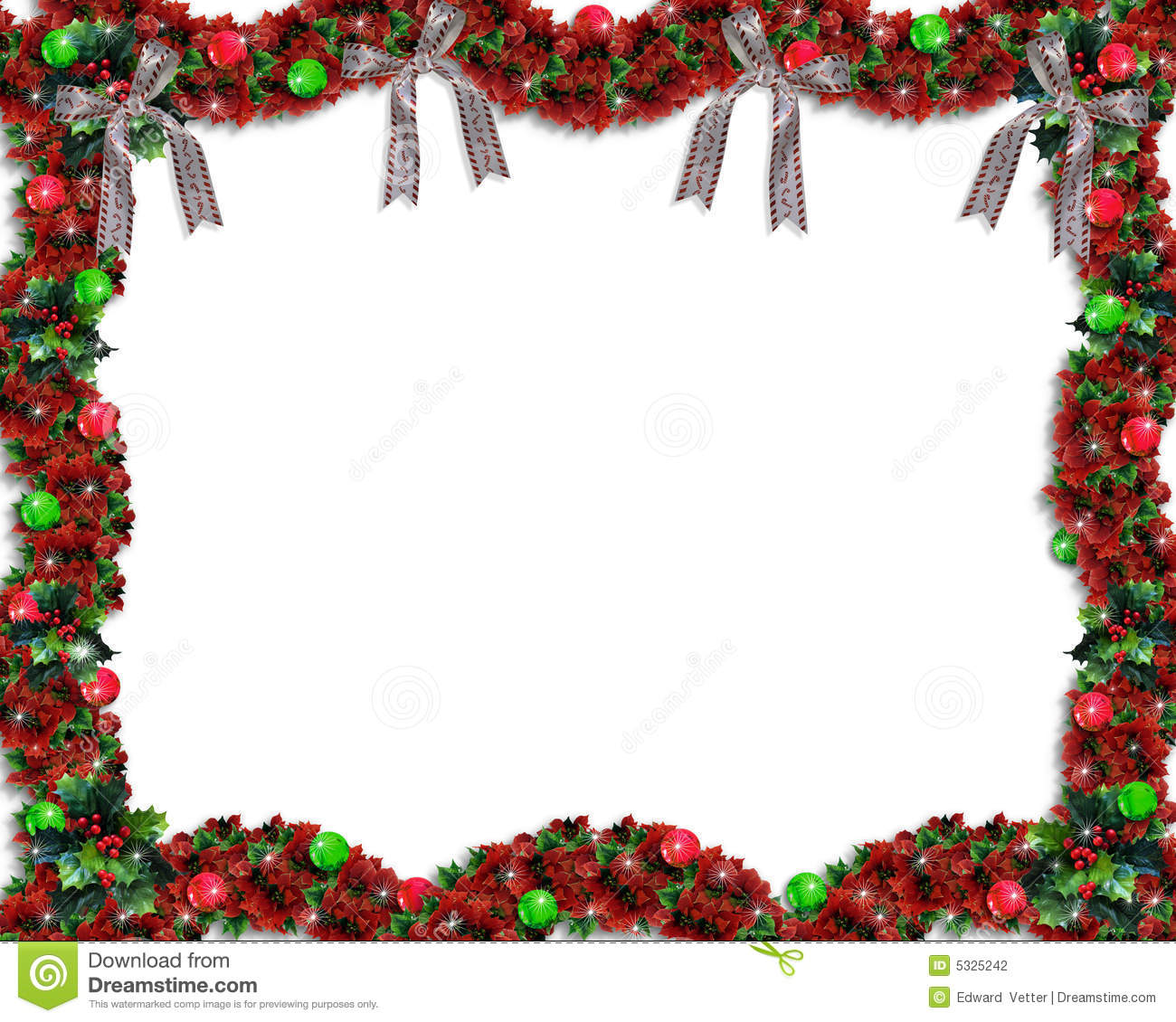 ... leaves and flowers for background, border or frame with copy space