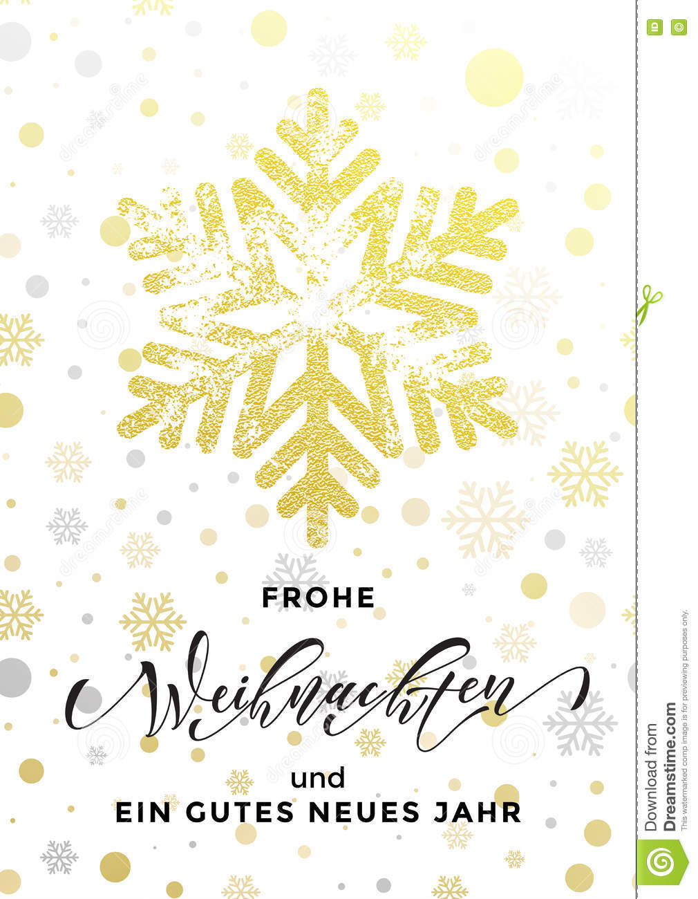 Christmas German Frohe Weihnachten, New Year Neues Jahr Greeting ...