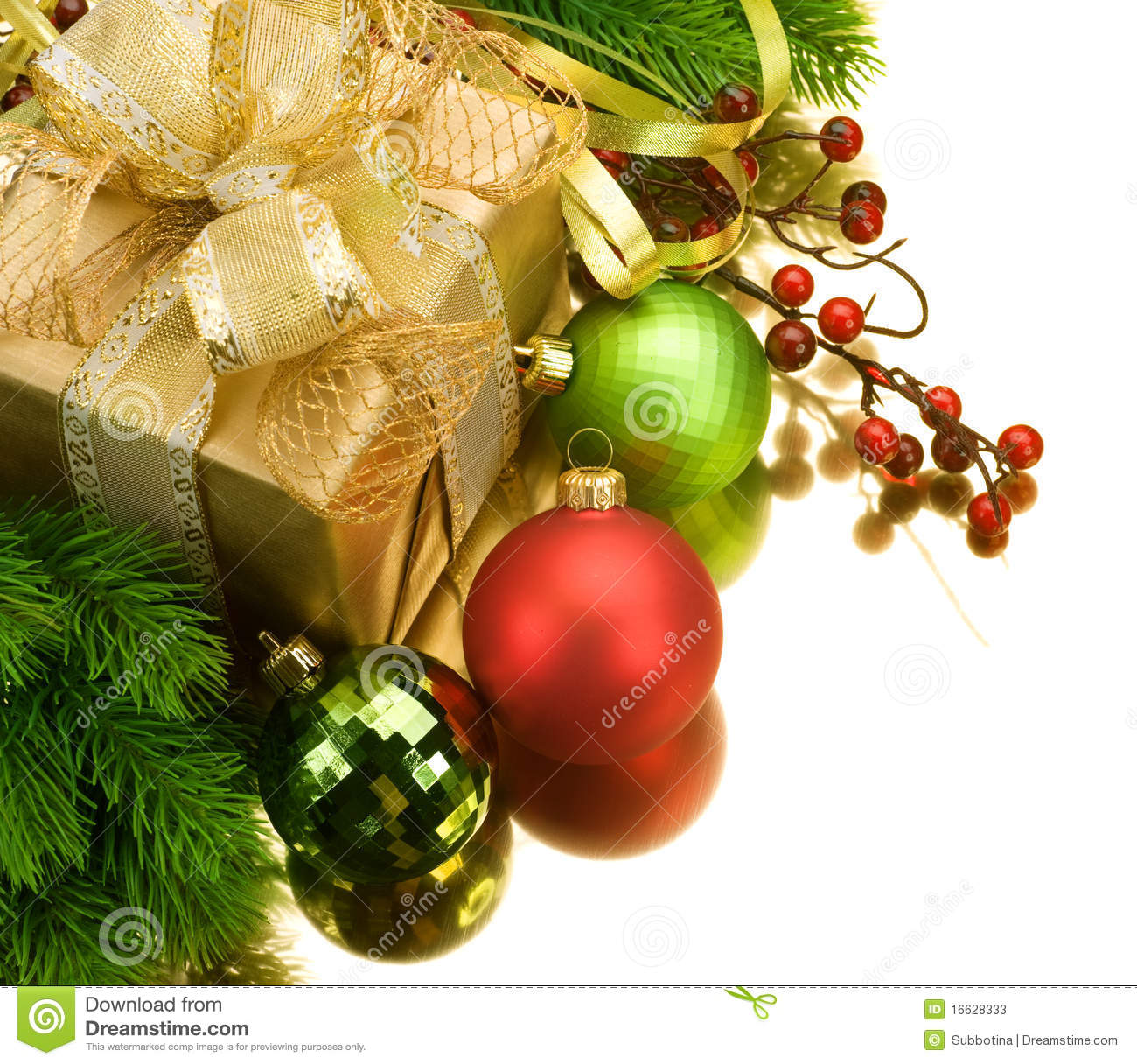Download Christmas Gift stock image. Image of 2011, colour, copyspace - 16628333