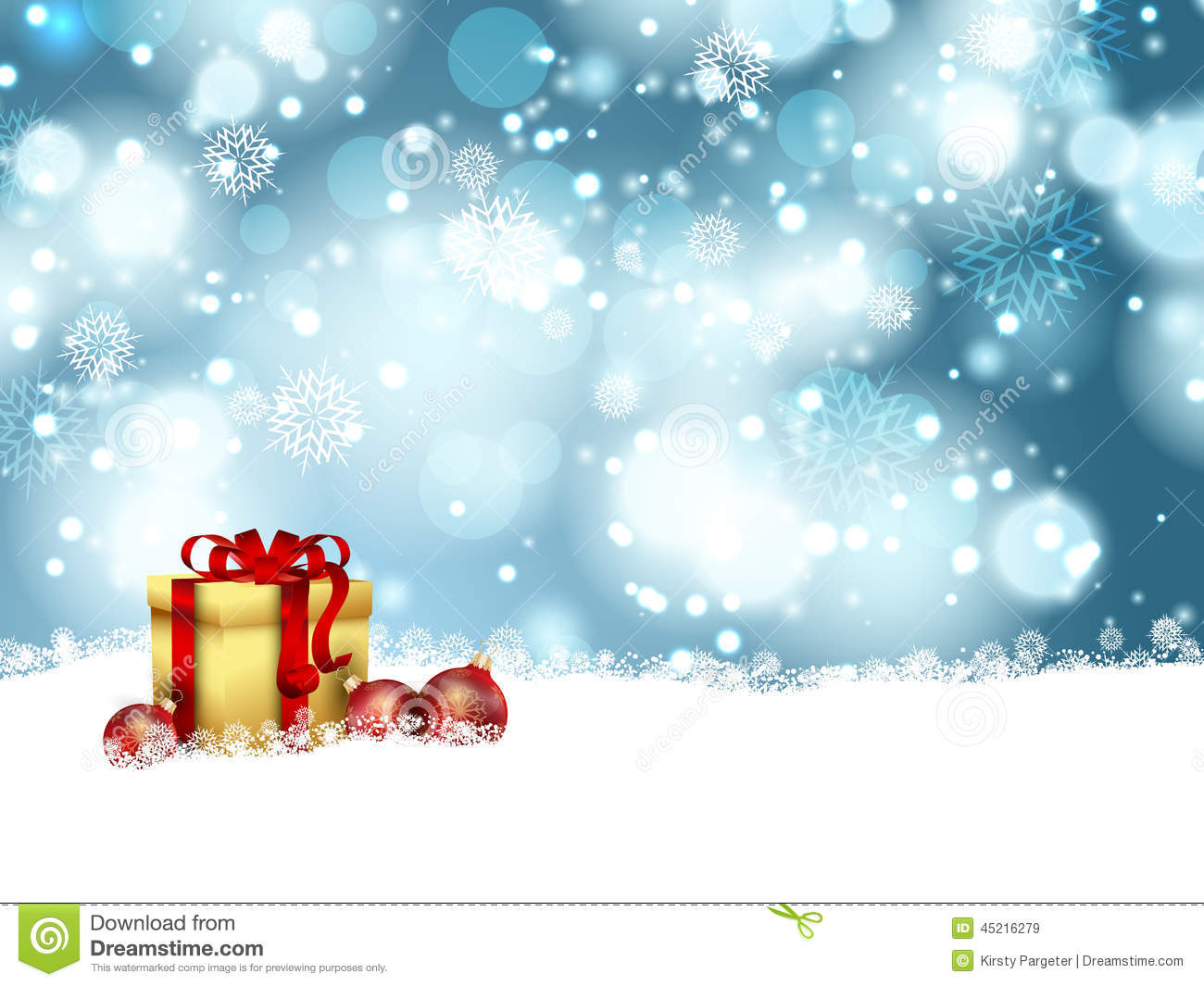 Christmas Gift Background Stock Vector - Image: 45216279