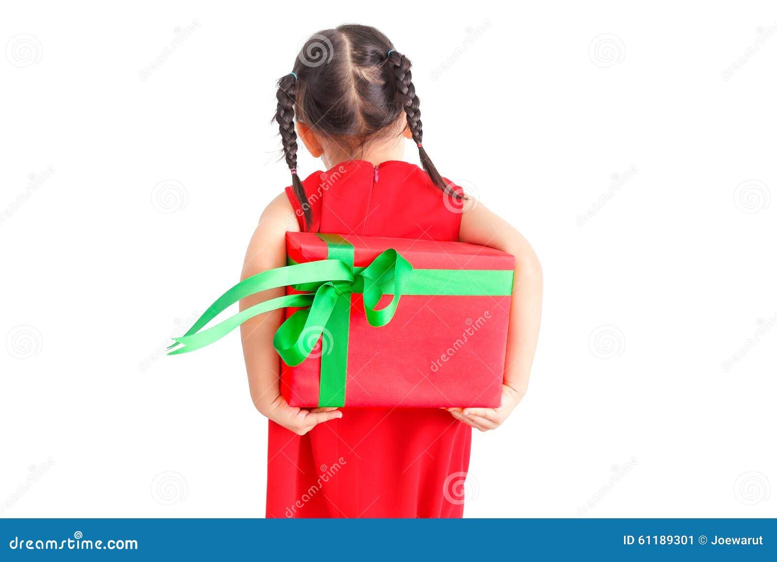 Christmas Gift Stock Photo Image 61189301