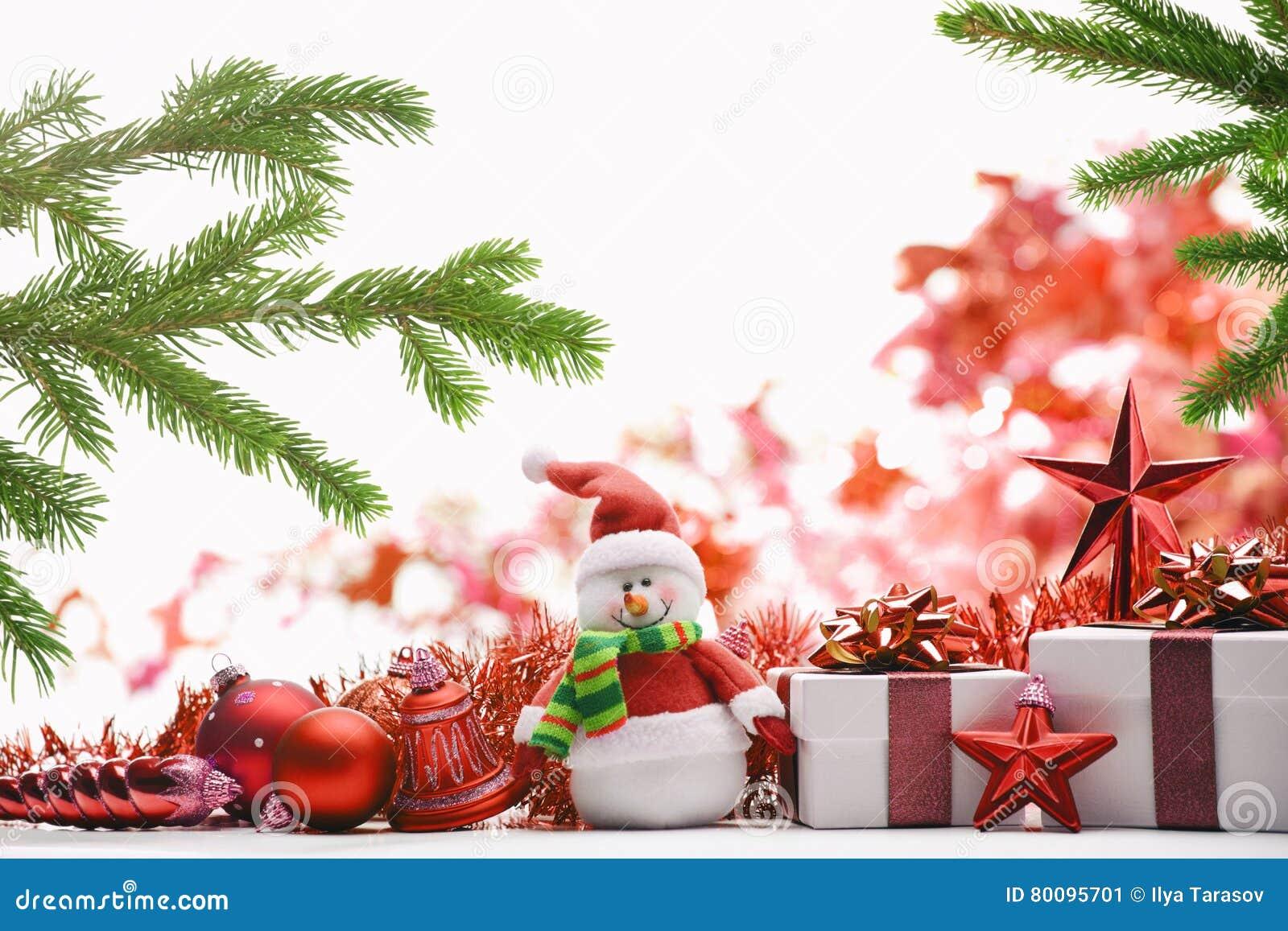 Russian christmas gift box