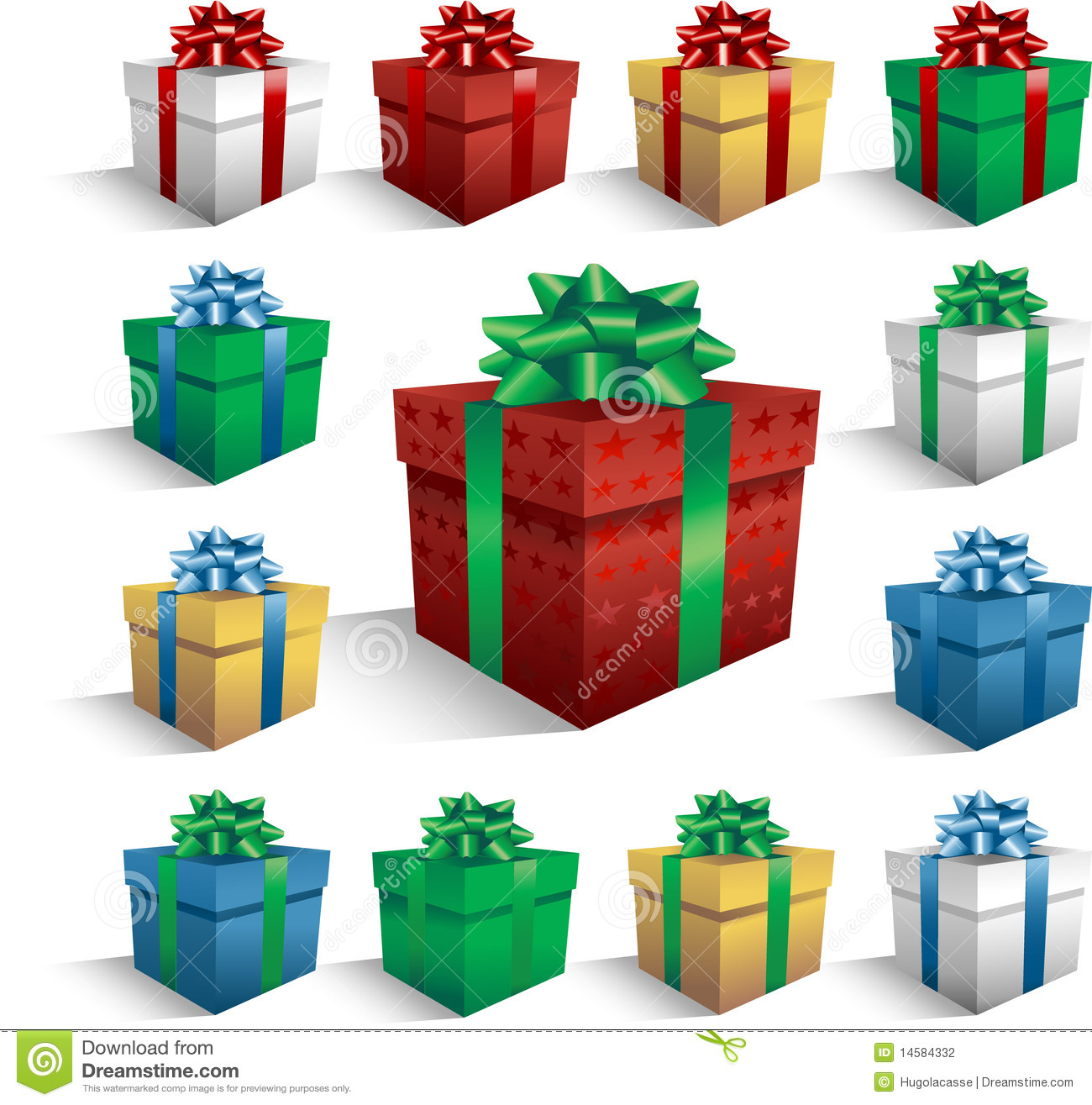 Christmas gift boxes stock vector image of motif colorful 14584332 christmas gift boxes negle Image collections