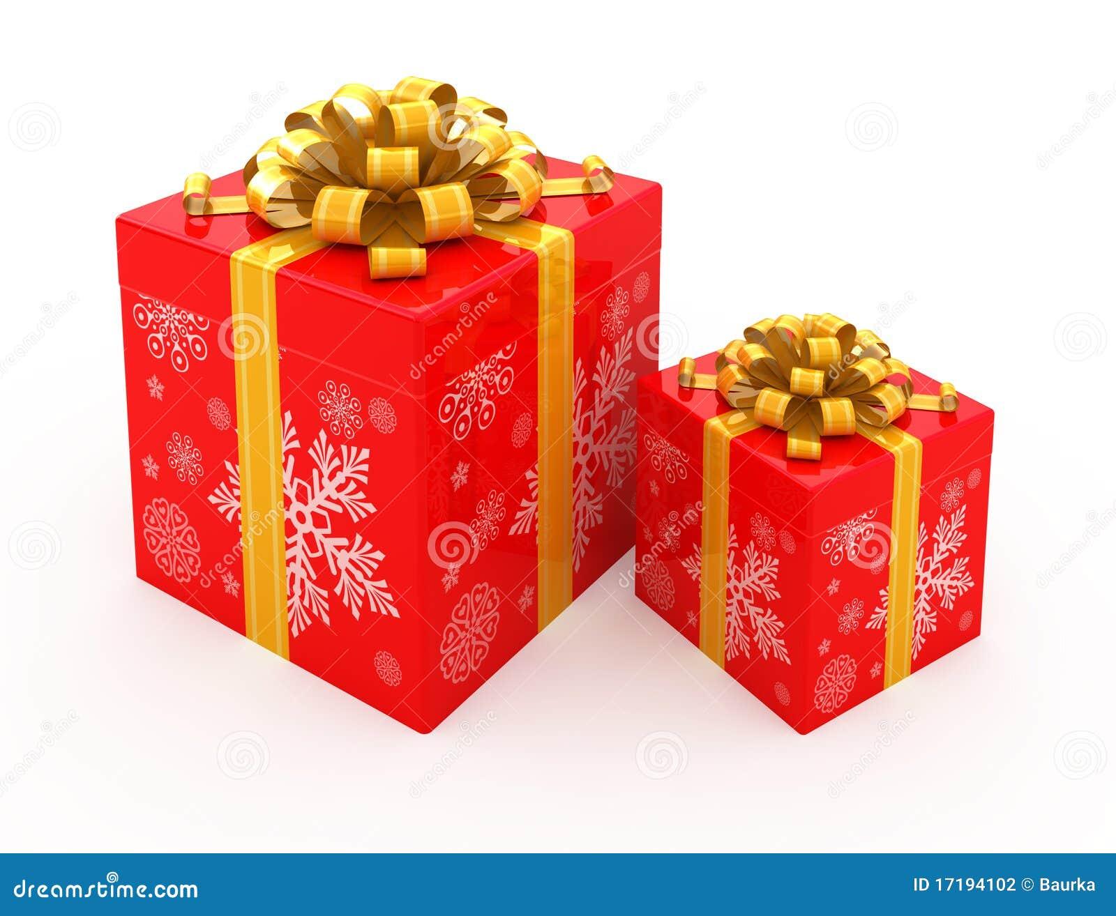 Christmas gift boxes stock illustration. Illustration of ...