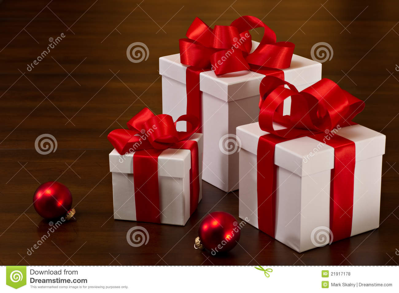 Christmas gift boxes stock photo image of package