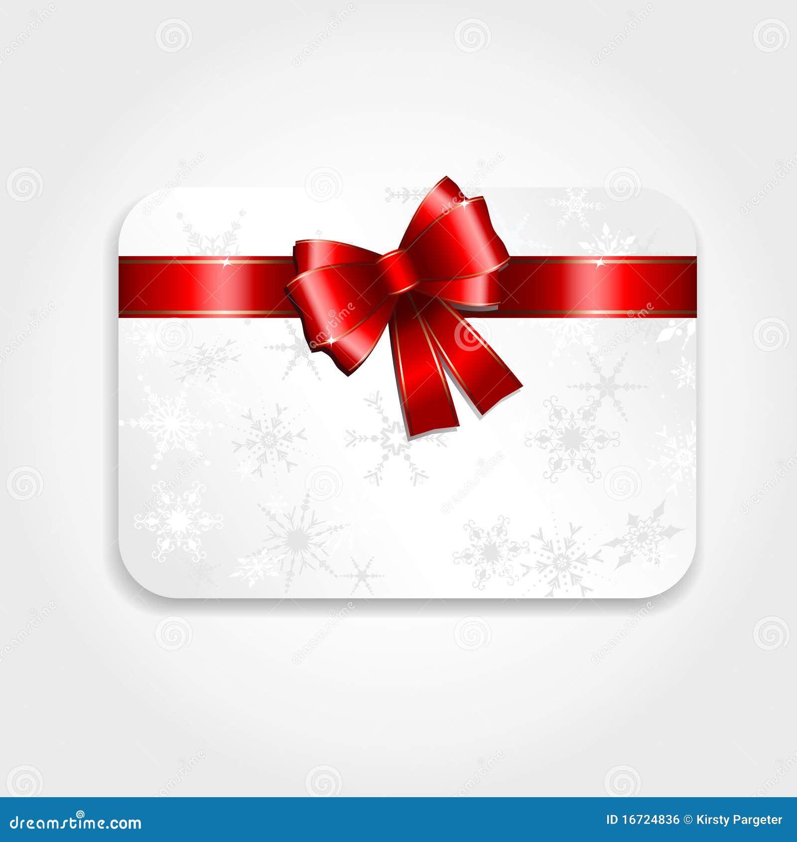 Christmas Gift Card Royalty Free Stock Image - Image: 16724836