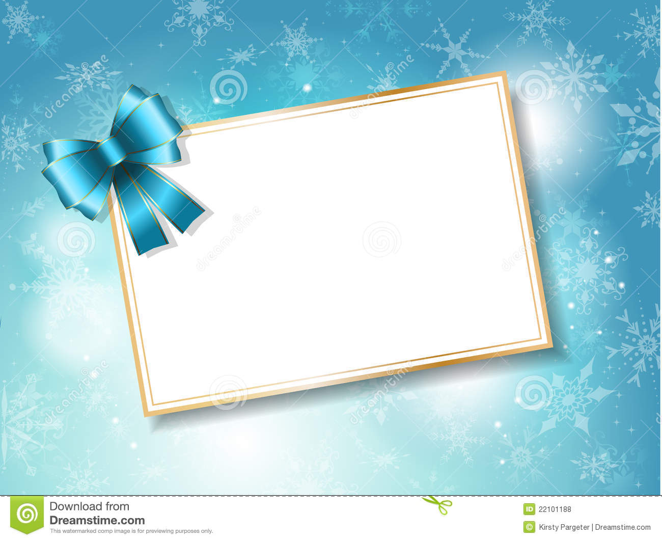 Christmas Gift Card Background Stock Vector - Image: 22101188