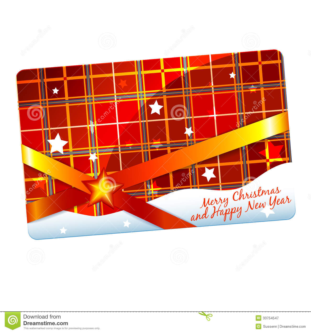 christmas gift card template royalty stock photography christmas gift card template
