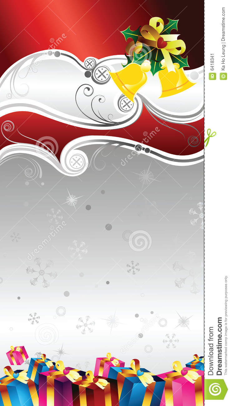 christmas gift certificate design stock image image  christmas gift certificate design