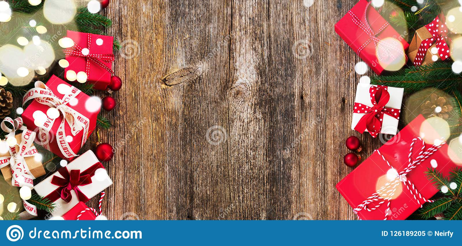 Christmas Gift Giving Images.Christmas Gift Giving Stock Image Image Of Festive 126189205